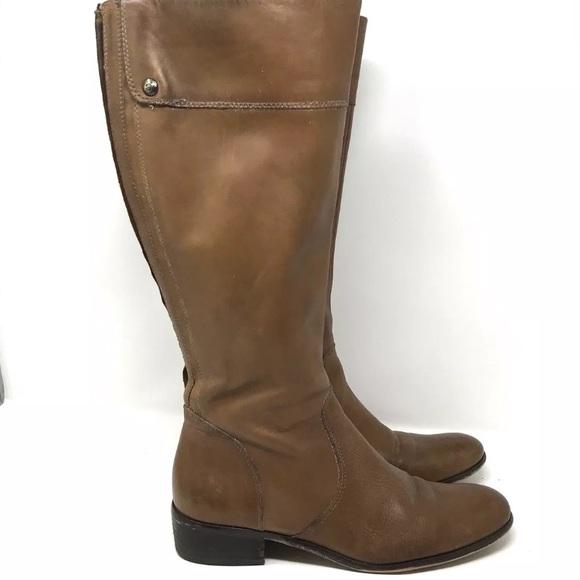 Corso Como Size 8 Camel Brown Equestrian Riding Boots Leather